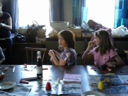 Muttertagsbasteln 2010