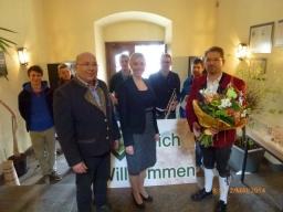 Begrüßung Bürgermeisterin 2014